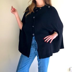 Vince Camuto Military Styled Cape M/L